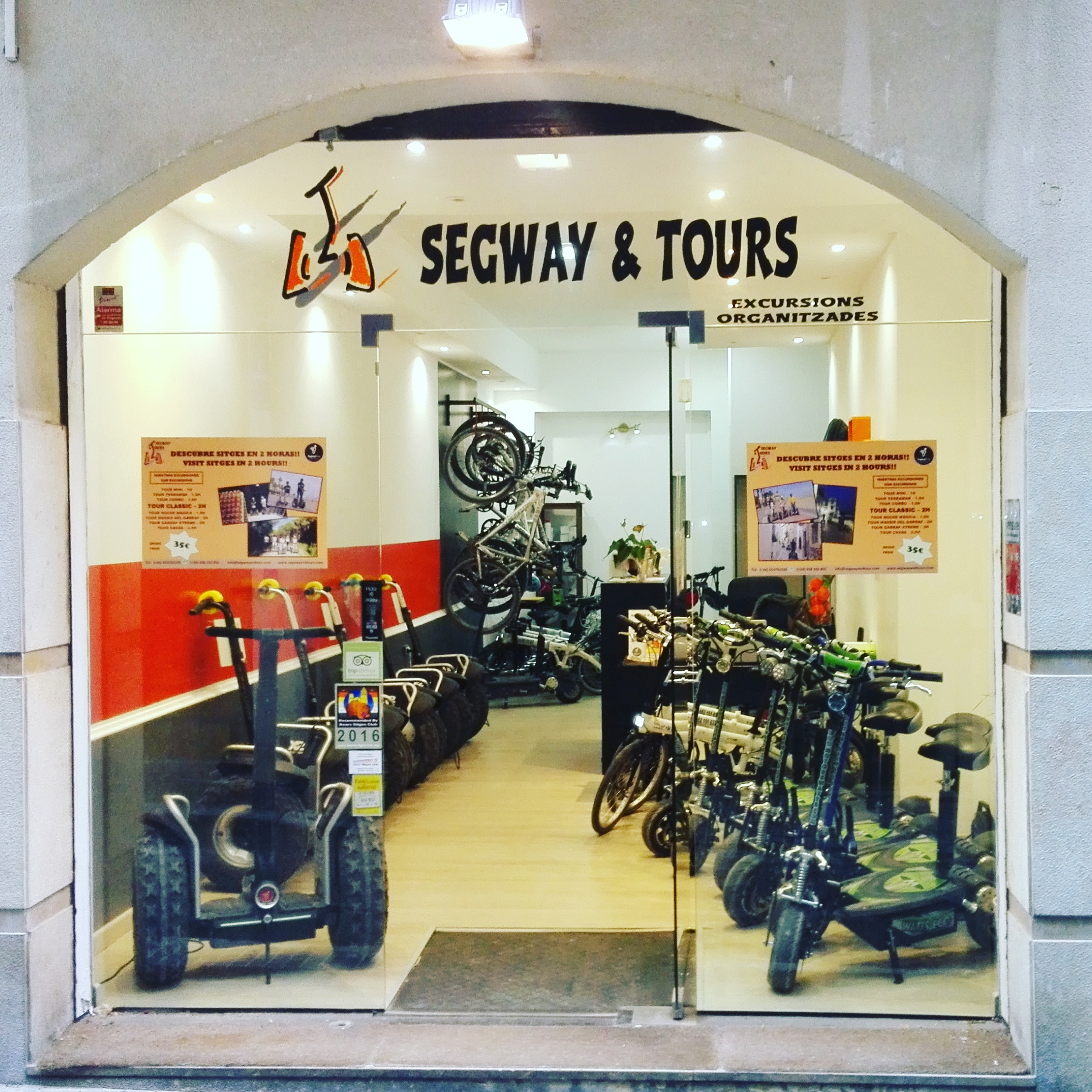 Segway Sitges Bookings- Segway and Tours