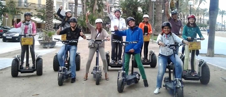 Segway Sitges combo Route