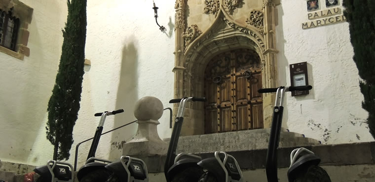 Segway Sitges Magic Night Route