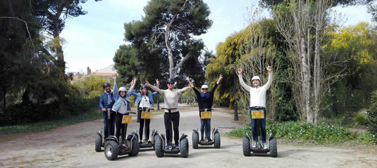Segway Sitges Terramar Route